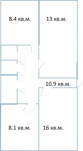 3 трехкомнатные квартиры